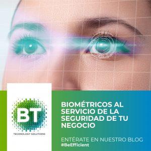 Biométricos al servicio de tu negocio.