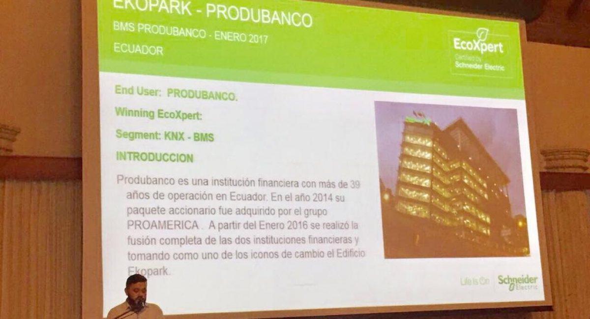 Ecoxpert Schneider Electrics 2017